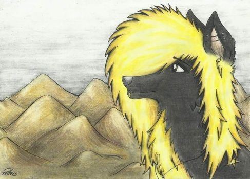 B-Day Gift: In the Mountains by PatrisOfWolf