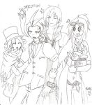 Odeko and the Gang... by ryokage