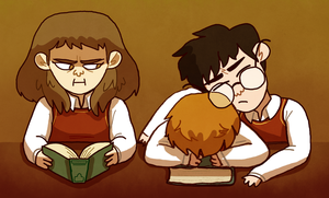 Study Time by Rosslaye