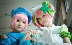 Shugo Chara Amulet Spade and Clover by MoonArtStudio