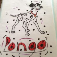 pongo drawing by EJJetsetter