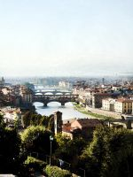 Fiume Arno - Florence by pearl-al