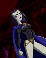 Raven from Teen Titans Go by Q-tan-chan