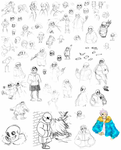 (mostly) undertale dump by Laanci