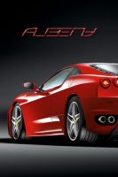 iphone wallpaper ferrari f430 by albenyd