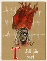 T is for Tell-Tale Heart by Disezno