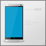 HTC One MAX : PSD by danishprakash