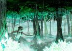 Artificial forest by Asiulus