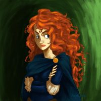Merida's hurrrrrr by Bonequisha