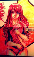 Blank Cover Sketch: Mary Jane Watson by bernce