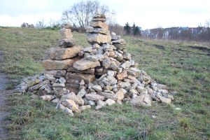 pile of stones by ArtAndStock