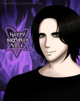 Happy Birthday Ville by NikkieHale