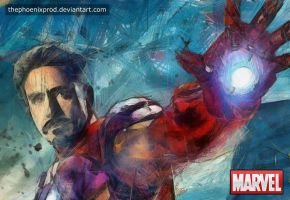 Marvel - The Avengers - Iron Man by thephoenixprod