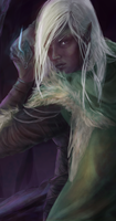 Drizzt Detail by WielkiBoo