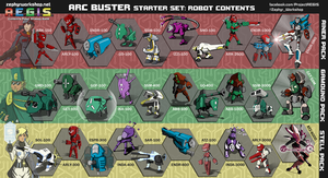 A.E.G.I.S. - Arc Buster 30-Set by ZEroePHYRt