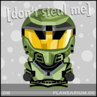 HALO: Master Chief (V. 1) by planearium