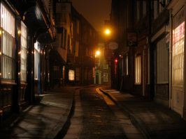 The Shambles in the Evening by ambaqua