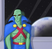 J'onn J'onzz by Wrecker-lady
