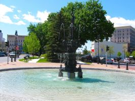 Public Square Watertown NY 010 by Joseph-Sweet-Stock