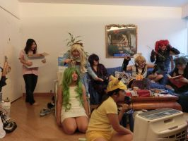 New Year's Eve PARTAY! by writingpikachu