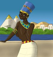 Queen of the Nile by BrandonSPilcher