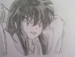 Inuyasha as a Human by AbominalSnowDemon