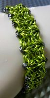 Lime Green Bracelet by Divulged
