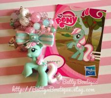 Minty - My Little Pony Necklace by BattyCreations