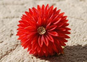 Autumn On Fire Maiko Kanzashi by myloko