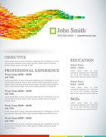Creative Resume - Vector Life by rkaponm