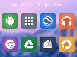 Shadow135 ~ Google Icons by BlackVariant