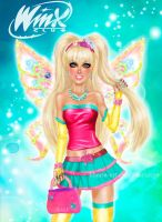 Winx Club Stella by kharis-art