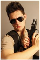 Chris Redfield Style by Leox90