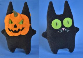 Trick or Treat Cat by imagination-heart