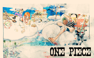 Wallpaper One Piece 1 by itahs
