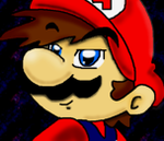 Mario on ms by NatSilva