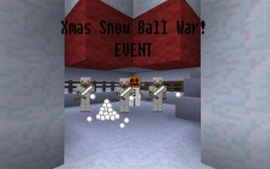 Minecraft - Server Snow Ball EVENT by unusual229