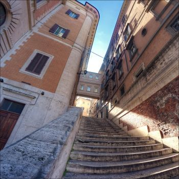 Stair and square by bubus666