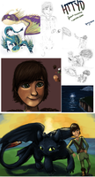 HTTYD sketch dump by unistar2000