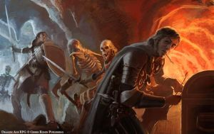 Dragon Age Stuff, Skeletons by Mancomb-Seepwood