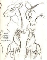 Sketchbook-Disney Deer v4 by Ashwin24