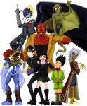 Seven heroes for one fangirl by Lauretta-89