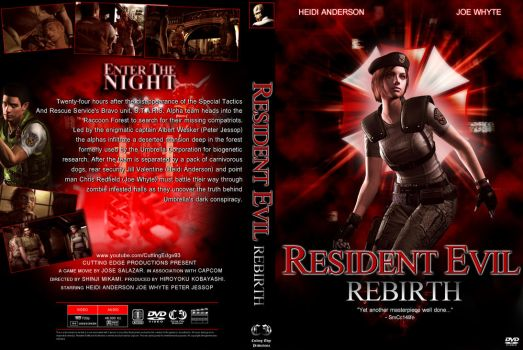 Resident Evil: Rebirth DVD Cover by CuttingEdge93