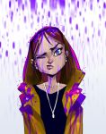 Purple raincoat by MaxGrecke