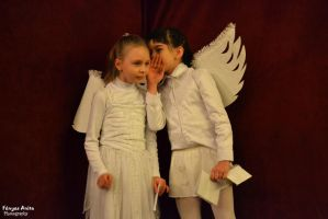 Even angels rumour by AnitaBright