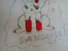 Zangoose :) by Sparklexter