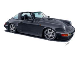 Porsche 964 Targa by vsdesign69