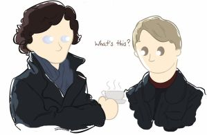 Sherlock Makes Coffee by Nollaig