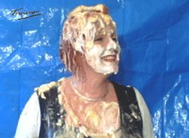 Pie in the Face Humour GIF by Trouso