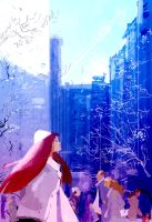 Frosty morning in the city. by PascalCampion